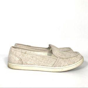 Roxy Minnow Slip On Fleece lined loafers